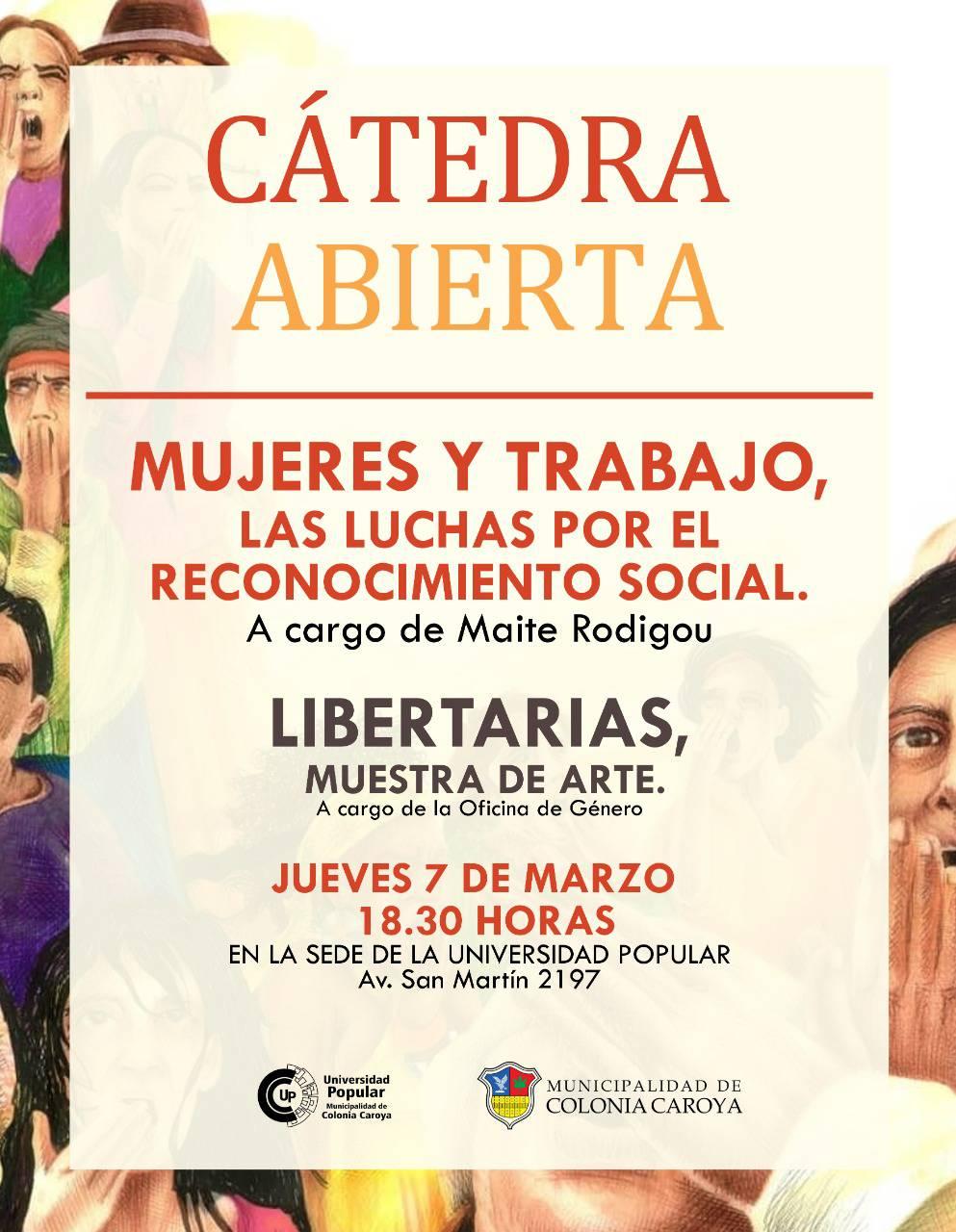 Dia Del Trabajador Mujeres dictarán una cátedra abierta sobre mujeres y trabajo | la ronda